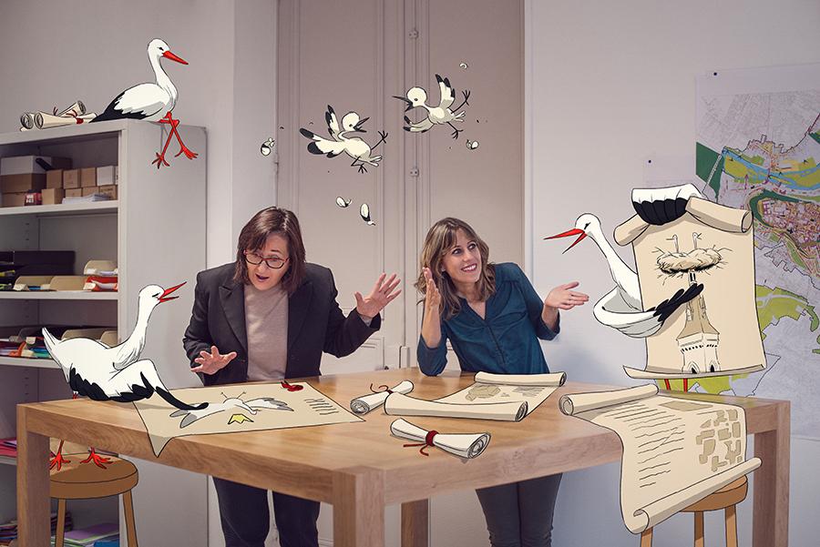 Photo et retouche : Laure Fauvel, Illustration : Xavier Sailliol